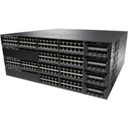 Cisco™ Catalyst 3650-24P Managed 10 Gigabit Data 2X10G Uplink IP Base Ethernet Switch, 24-Port