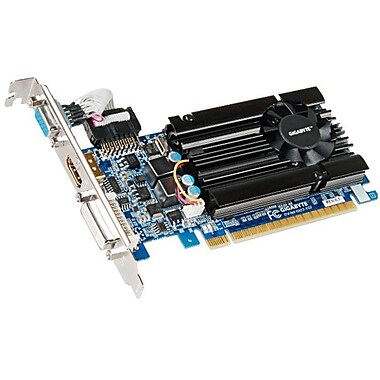 GIGABYTE™ 600 Series HD Experience NVIDIA GeForce GT 610 1GB DDR3 Plug-in 1333 MHz Graphic Card