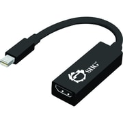 Siig® 8.46 DisplayPort To HDMI Adapter W/Audio, Black