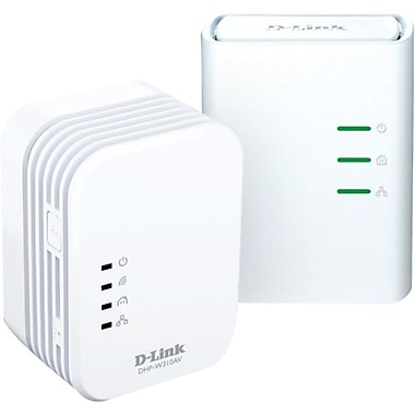 D-Link® Powerline AV 500 Wireless N Mini Starter Kit