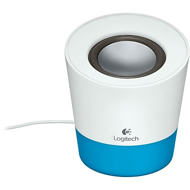 Logitech® Z50 10 W Multimedia Speaker System, Ocean Blue,