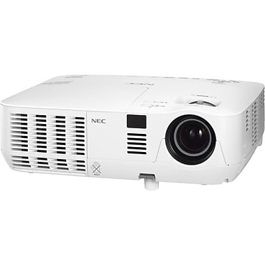 NEC® NP-V311X 3100 Lumen High Brightness Mobile Projector, XGA
