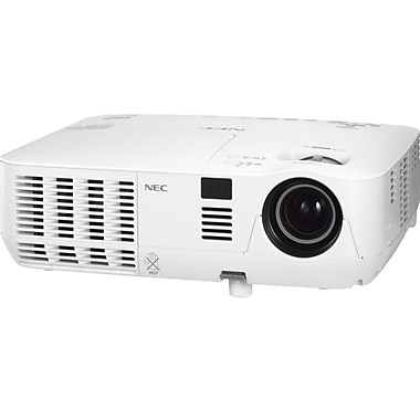 NEC® NP-V311W 3100 Lumen High Brightness Widescreen Mobile Projector, WXGA
