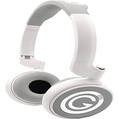 G-Cube BH-860 Hits Master Over The Head Bluetooth v3.0 Headphones, White