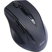 A4Tech® 7 Button 2.4 GHz DustFree HD Mouse, Black
