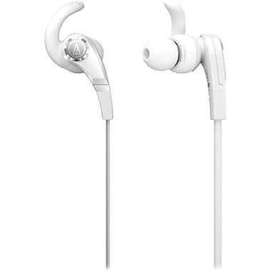 Audio-Technica ATH-CKX7WH SonicFuel In-Ear Headphone, White