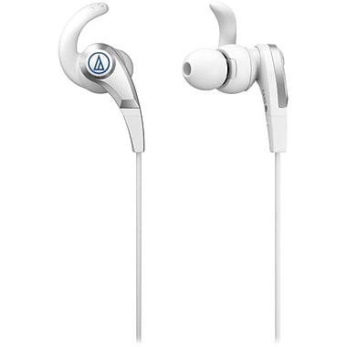 Audio-Technica® CKX5 SonicFuel In Ear Headphones, White