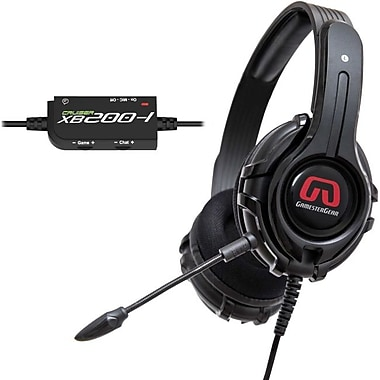 GamesterGear Cruiser XB200 Stereo Gaming Headset For Xbox, Black