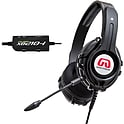 GamesterGear Cruiser XB210-I On-Ear USB Wired Gaming Headphones for Xbox 360 (Black)