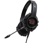 GamesterGear Cruiser PC200 PC Wired Gaming Headset With Detachable Mic For PS4/PS3, Black