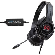 GamesterGear Cruiser P3200 PC Stereo Gaming Headset For PS4/PS3, Black