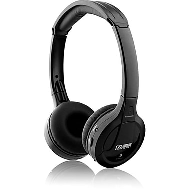 ECO Sound V300 Over The Head Bluetooth Stereo Headphones, Black