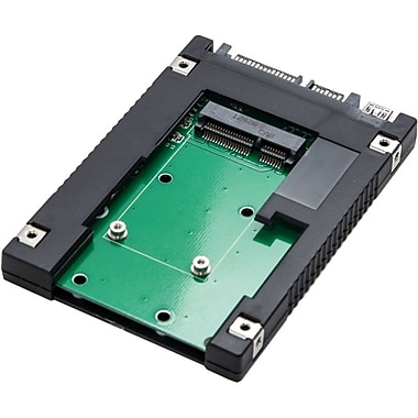 Syba™ 2 1/2in. Internal/External SATA to mSATA SSD Adapter For Laptop