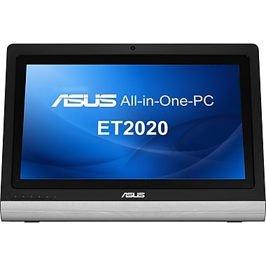 Asus® ET2020AUKK All-in-One Computer, AMD A4-5000 Quad Core 1.5GHz