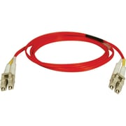 Tripp Lite 3' Duplex MMF LCM to LCM Patch Cable, Red