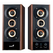 Genius SP-HF800A 20 W 3-Way Hi-Fi Wood Speaker System