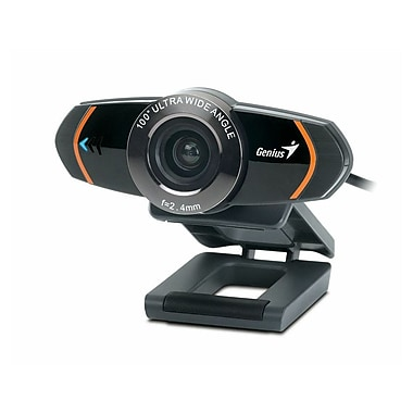 Genius WideCam 320 Ultra Wide Angle Video Conference Webcam, 8 MP