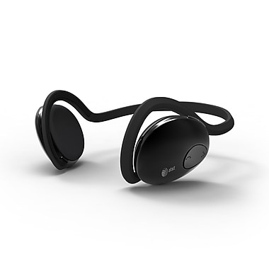 AT&T FreeAgent Universal Stereo Bluetooth Headphone, Black