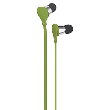 AT&T Jive Music + Calls Earbud With In-Line Mic, Green