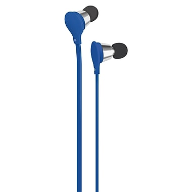 AT&T Jive Music + Calls Earbud With In-Line Mic, Blue