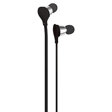 AT&T Jive Music + Calls Earbud With In-Line Mic, Black