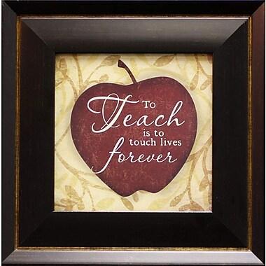 To Teach, Framed, 6