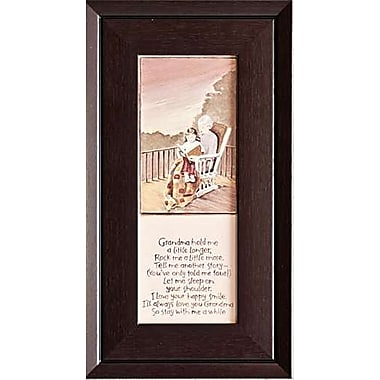 Grandma Hold Me, Framed, 8