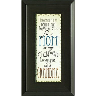 Mom & Grandma, Framed, 4