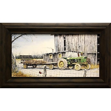Winter On The Farm, Framed, 8