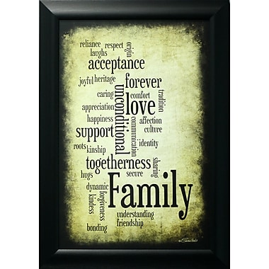 Family, Framed, 12