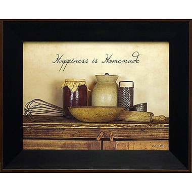 Happiness Is Homemade, Framed, 12