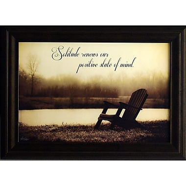 Solitude, Framed, 12