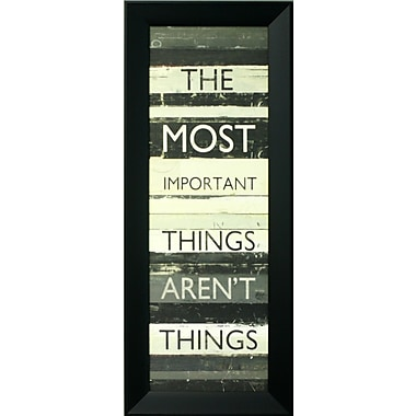Best Things In Life, Framed, 12