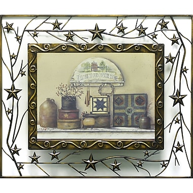 Our Country Home, Metal, Framed, 12