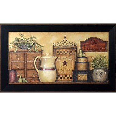 Old Treasures I, Framed, 16