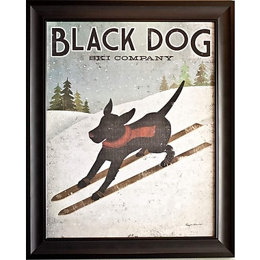 Black Dog Ski Co., Framed, 22