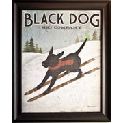 "Black Dog Ski Co., Framed, 22"" x 28"""