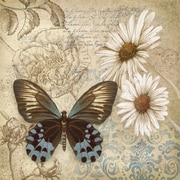 """Butterfly Garden I, Framed, 27"""" x 27"""""""