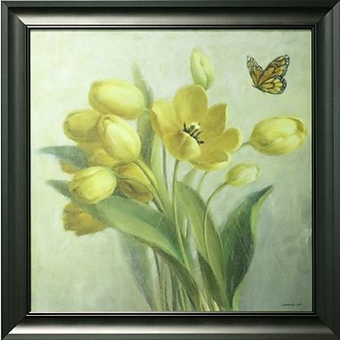 Yellow French Tulips, Framed, 27