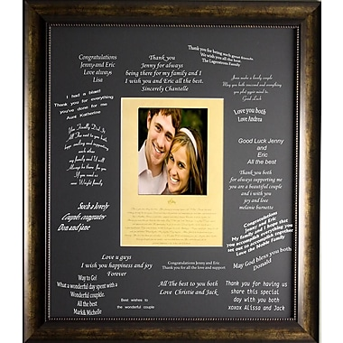 I Do-Signature Kit, Framed, 27