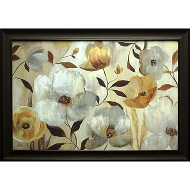 Golden Flower, Framed, 24