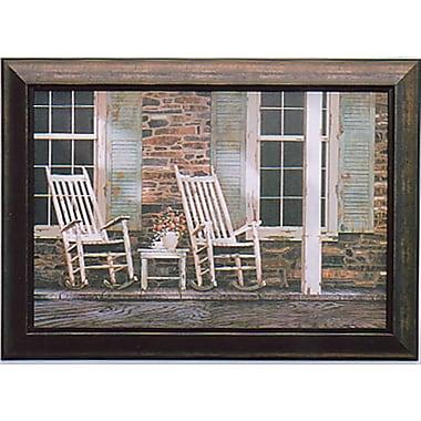 Stone House, Framed, 24