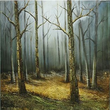 Winter Slumber, Oil Canvas, 40