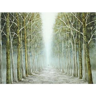 Endless Path, Oil Canvas, 36