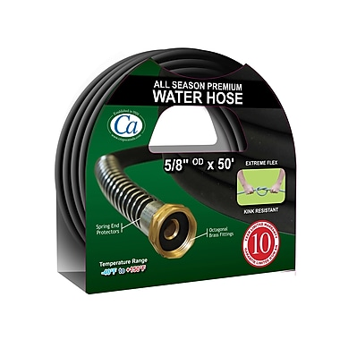 Crisp-Air All Season Premium Garden Hose, 50'