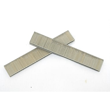 Crisp-Air Narrow Crown Staples, Divergent, Galvanized, 18 Gauge, 5,000/Pack