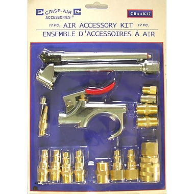 Crisp-Air 17 Pcs Air Tool Kit