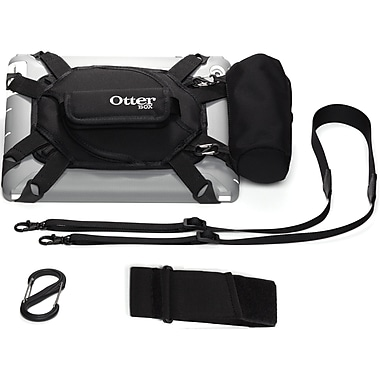 OtterBox™ Utility Series Latch II Case With Accessory Bag For 10in. Tablet, Black/Black