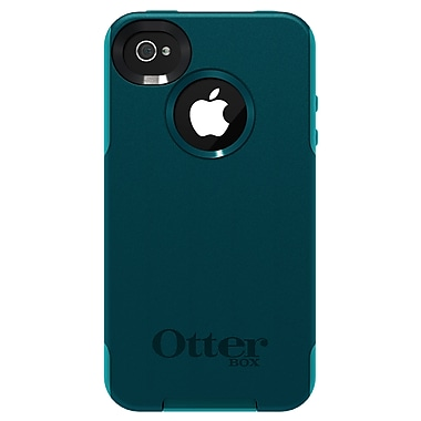 OtterBox™ Commuter Hybrid Case For iPhone 4 & 4S, Deep Teal/Light Teal