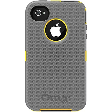 OtterBox™ Defender Hybrid Case With Holster For iPhone 4 & 4S, Sun Yellow/Gunmetal Gray